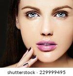 high fashion look.glamor... | Shutterstock . vector #229999495