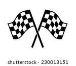 vector black illustration of... | Shutterstock .eps vector #230013151