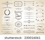 this image is a vector set that ... | Shutterstock .eps vector #230016061