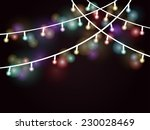 wire white and multi colored... | Shutterstock .eps vector #230028469