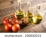 fresh olive oil  | Shutterstock . vector #230033221