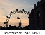 the fun park. | Shutterstock . vector #230043421