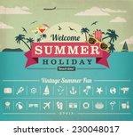 summer vacation | Shutterstock .eps vector #230048017