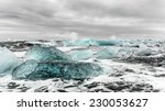 Icebergs In The Surf In Eastern ...