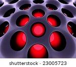 abstract high tech black... | Shutterstock . vector #23005723