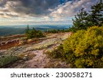 view from blue hill overlook in ...
