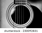 Acoustic Guitar With Very...