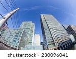 canary wharf  financial...   Shutterstock . vector #230096041