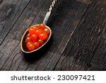 salmon caviar | Shutterstock . vector #230097421