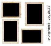 photo frames over white...   Shutterstock . vector #23010199