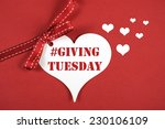 giving tuesday philanthropy day ... | Shutterstock . vector #230106109