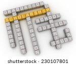 3d imagen scholarship issues... | Shutterstock . vector #230107801