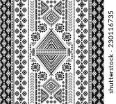 tribal vintage ethnic seamless... | Shutterstock .eps vector #230116735