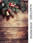 christmas fir tree with... | Shutterstock . vector #230119474