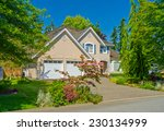 custom built luxury house with... | Shutterstock . vector #230134999