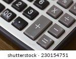 calculator | Shutterstock . vector #230154751