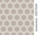 seamless geometric pattern.... | Shutterstock .eps vector #230175265
