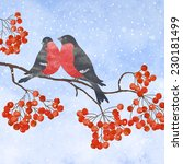 Winter Card  With Two...