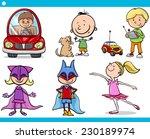 cartoon vector illustration of... | Shutterstock .eps vector #230189974