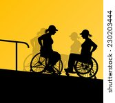 Active Disabled Young Women In...