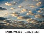 A Sunrise Cloud Formation...
