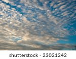 A Cloud Formation Against A...