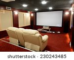 soundproof home theater in home ... | Shutterstock . vector #230243485