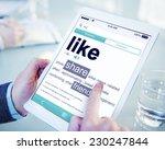 like share friends favorite... | Shutterstock . vector #230247844
