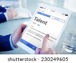 talent expertise professional... | Shutterstock . vector #230249605
