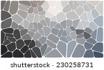 abstract colorful mosaic pattern | Shutterstock .eps vector #230258731