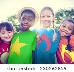 Children Friendship Bonding Outdoors Cheerful - Fine Art prints
