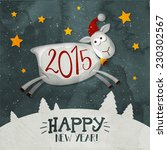 christmas and new year ...   Shutterstock .eps vector #230302567
