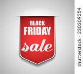 black friday sale | Shutterstock .eps vector #230309254