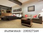 bedroom interior with jacuzzi... | Shutterstock . vector #230327164