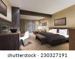 modern bedroom interior | Shutterstock . vector #230327191
