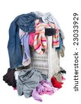 a pile of dirty laundry.... | Shutterstock . vector #23033929
