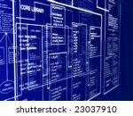 programming layout - stock photo