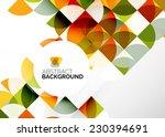 abstract modern flyer  ... | Shutterstock .eps vector #230394691