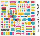 set of speech bubbles. various... | Shutterstock .eps vector #230413489