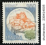 italy   circa 1980  a stamp... | Shutterstock . vector #230414035