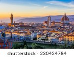 View Of Florence After Sunset...