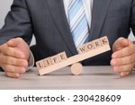 midsection of businessman... | Shutterstock . vector #230428609