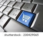 online e shopping concept with
