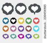 heart icon | Shutterstock .eps vector #230454985