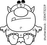 a cartoon illustration of a... | Shutterstock .eps vector #230473219