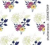 seamless pattern   simple...   Shutterstock .eps vector #230487049