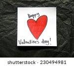 happy valentines day | Shutterstock . vector #230494981