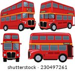 london bus | Shutterstock .eps vector #230497261
