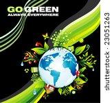 vector abstract environmental ...   Shutterstock .eps vector #23051263