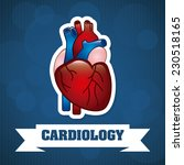 cardiology graphic design  ...   Shutterstock .eps vector #230518165